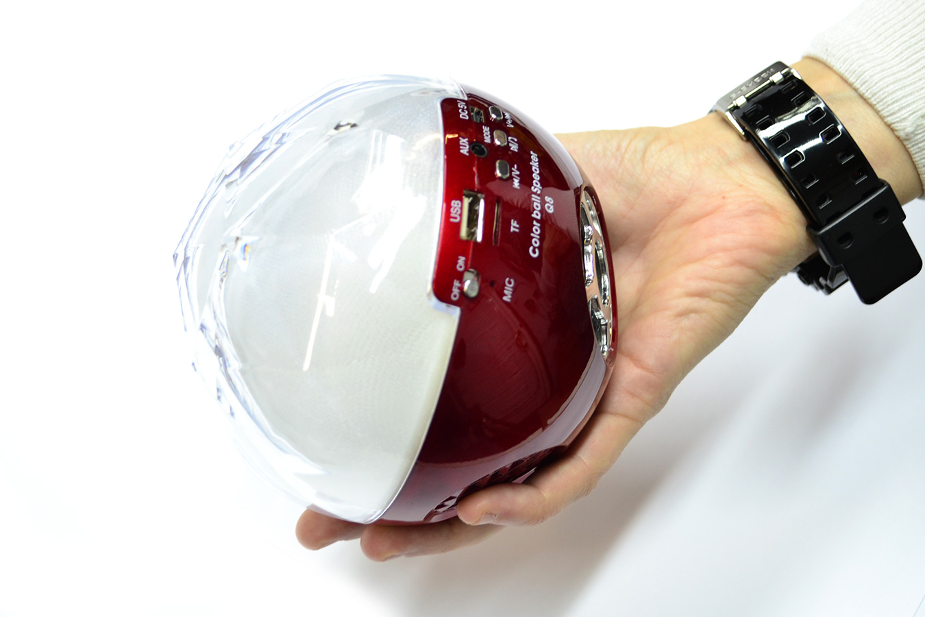 Колонки MP3 Bluetooth Color Ball Speaker Q8