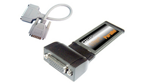 Notebook ExpressCard STlab C-370 25pin LPT Paralel port