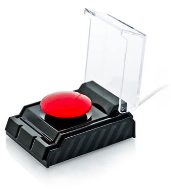 USB Acessories Dream Cheeky Big Red Button Красная кнопка
